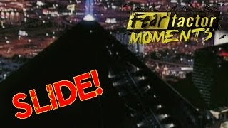 Fear Factor Moments | Luxor Slide