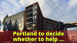 Portland to decide whether to help subsidize low-rent housing along Southwest waterfront