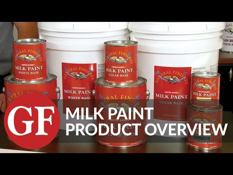 Milk Paint | Premium Interior & Exterior Wood Coating | Product Overview | General Finishes