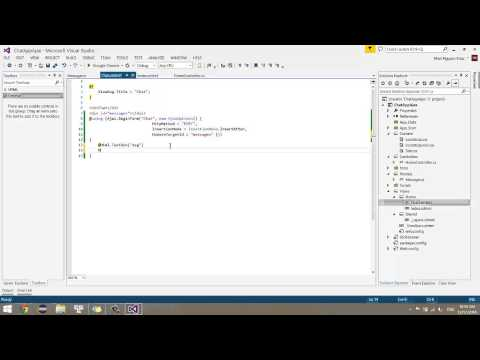 ASP.NET MVC5.0 Ajax Chat