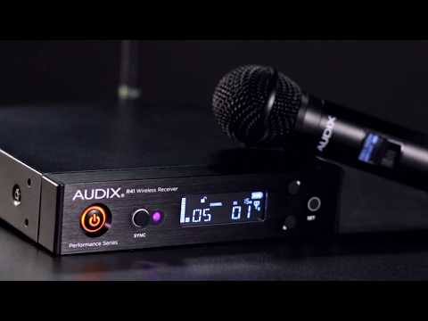 Audix R41 and R42 Performance Series Wireless Receivers