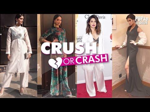 Crush Or Crash Celebrity Style Episode 9 - POPxo Fashion