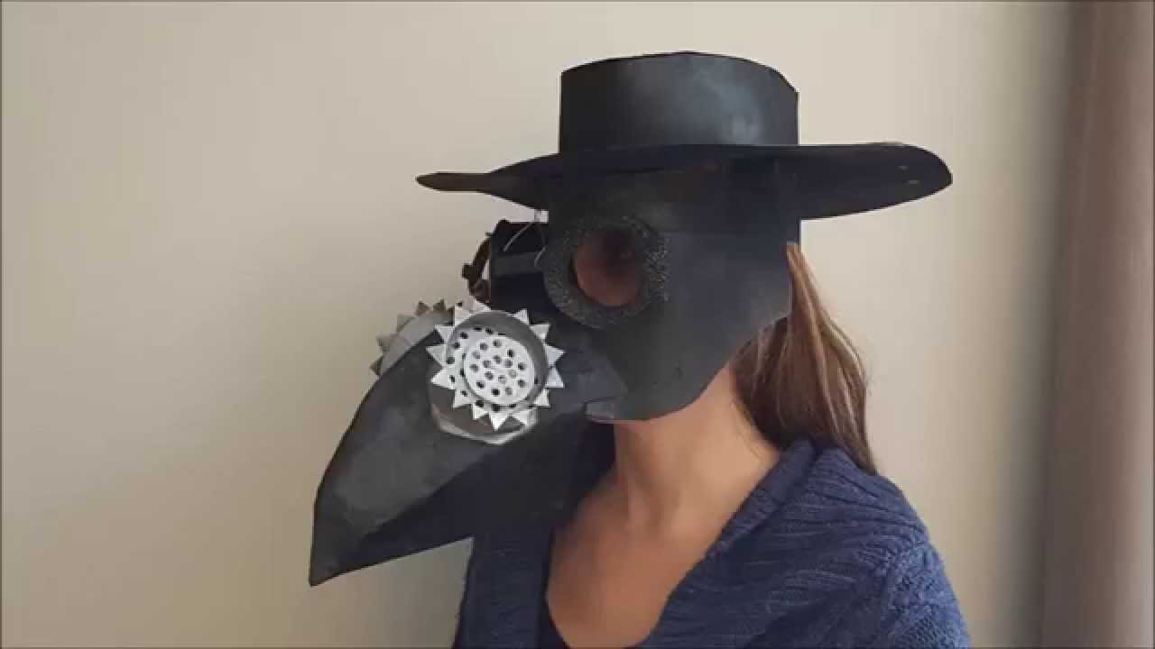 How to make a cardboard plague doctor mask youtube how to make a cardboard plague doctor mask solutioingenieria Images