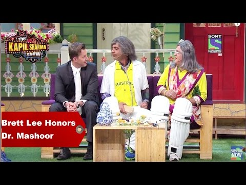 The Kapil Sharma Show - Brett Lee Honors Dr. Mashoor Gulati