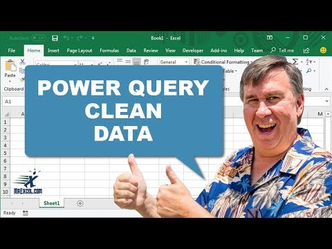Learn Excel - Clean Data with Power Query - Podcast 2037