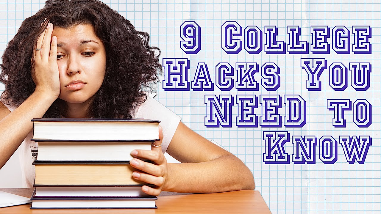 Study Tips, Motivation, & Money: 9 College Hacks You Should Know!