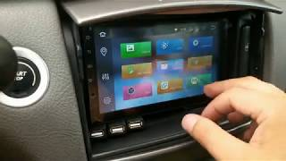 Renault Laguna 2 installation of 2DIN radio on the example of the SEICANE H203G radio