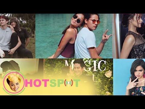 Hotspot 2018 Episode 1281: Mga dapat abangan sa Kapamilya Love Teams ngayong 2018, iisa-isahin