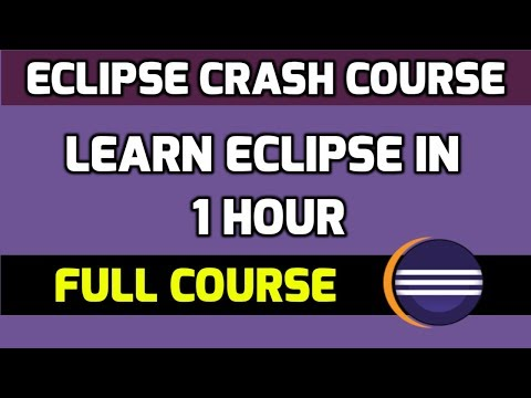 Learn Eclipse In 1 Hour With 30 Lessons | Amit Thinks