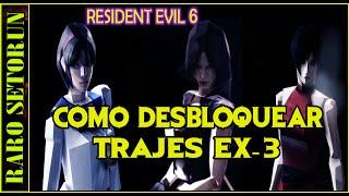 Resident Evil 6: Como desbloquear Trajes Extra 3 (ESTILO PIXELEADOS)