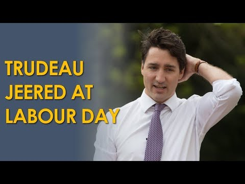 Workers Reject Trudeau At Hamilton Labour Day Parade