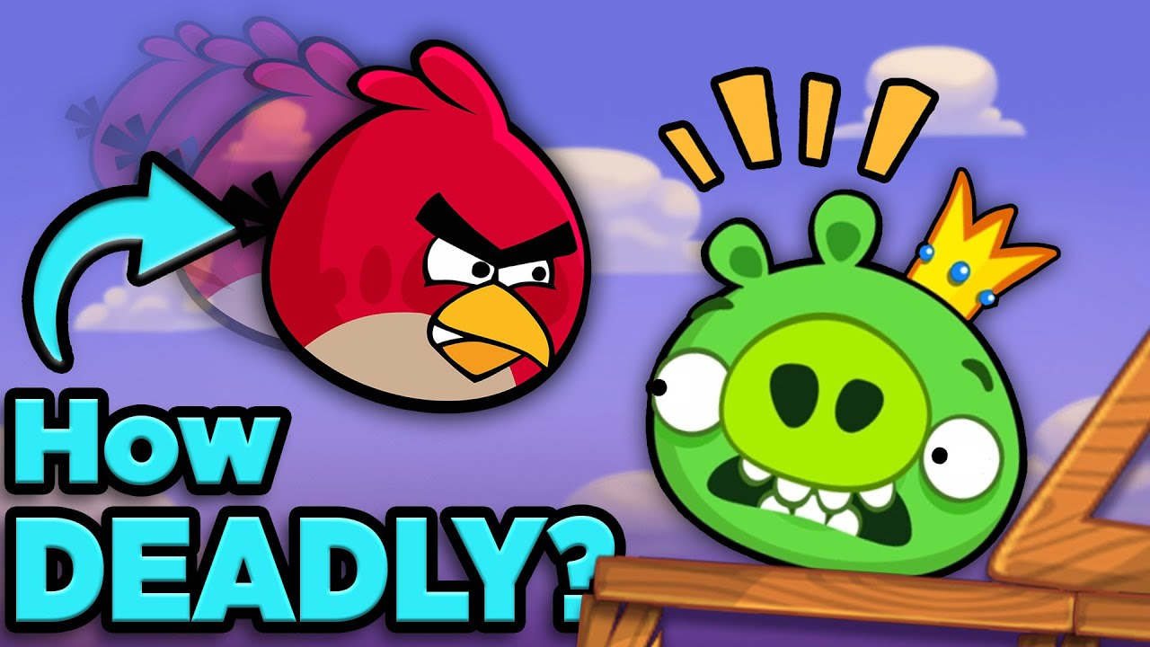 How Deadly is an Angry Bird? | The SCIENCE of... Angry Birds
