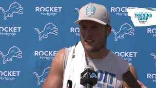 Matthew Stafford on joint practices with Texans
