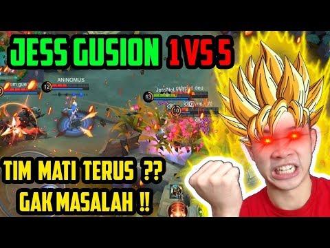 JESS GUSION 1 VS 5!! - JESS GUSION MONTAGE #1