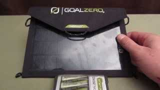 Goal Zero - Nomad 7 & Guide 10 Plus portable solar charger review