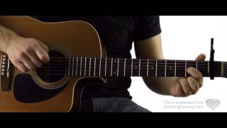The Gambler - Guitar Lesson and Tutorial - Kenny Rogers