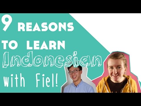 9 Reasons to Learn Indonesian║Lindsay Does Languages Video