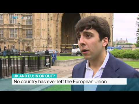 Interview with Diego Zuluaga from Epicenter on UK referendum