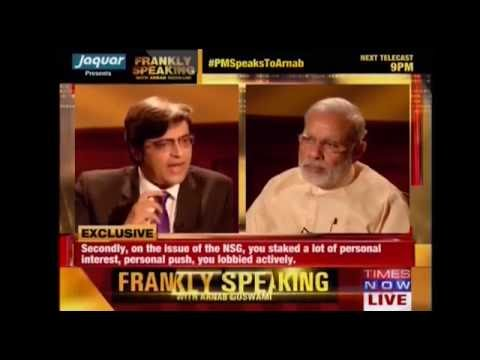 Watch exclusive & first interview of Shri Narendra Modi after becoming Prime Minister of India