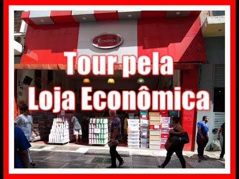 VEDA 18 - Vlog Na Loja Econômica Da Rua Direita, 181 - Sé