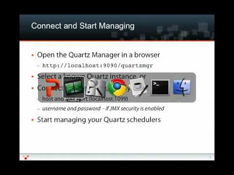 Quartz Manager Screencast by Mike Allen, Vice President of Product Management at Terracotta