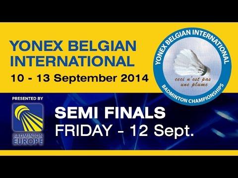 SF - MS - Hans-Kristian Vittinghus vs Joachim Persson - 2014 Yonex Belgian International