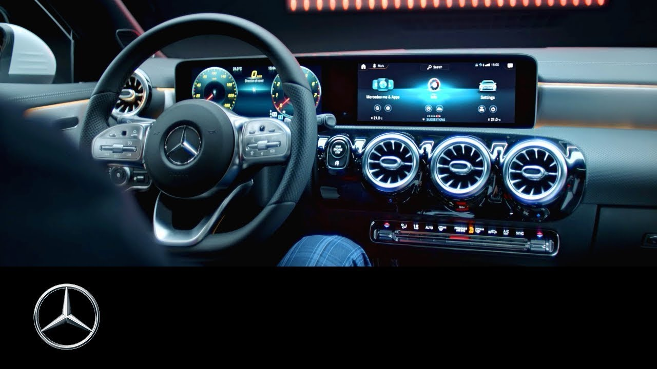 Mercedes Benz Cla Coupe 2019 Mercedes Benz User Experience Mbux