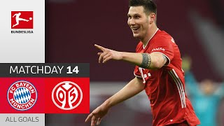 Strong Bayern Comeback from 0-2! FC Bayern - Mainz 05 | 5-2 | All Goals | Matchday 14 – Bundesliga