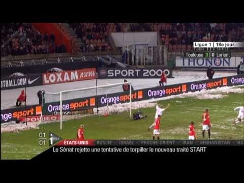 Psg-Monaco (2-2) Doublé de Nene The Best 18/12/2010