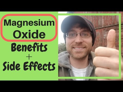 Magnesium Oxide (Benefits And Side Effects) 2019 🧐