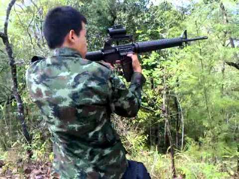 ยิง M16A2 เล่น