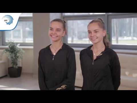 Behind the Gold Meet Europe's Champions! Episode 7 Dina and Arina Averina