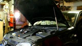 VW Golf 4 TDI 150 carat 4 Motion bruit moteur !