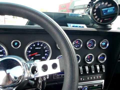 Interior Clip Unfinished Custom Dash Bezel 2 Tachs Youtube