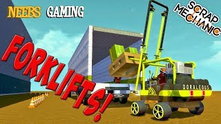 Scrap Mechanic - Forklift Challenge!