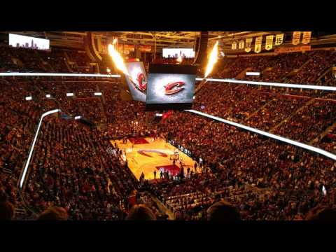 Cleveland Cavaliers - Player Introduction - Q Arena
