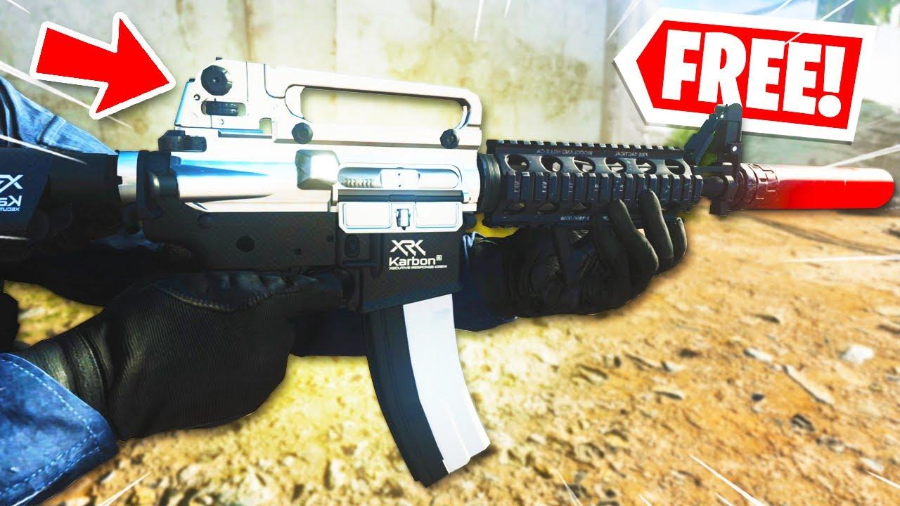 THE NEW *FREE* M4A1.. MUST UNLOCK NOW! - BEST M4A1 CLASS MODERN WARFARE! (Best Class Setups COD MW)