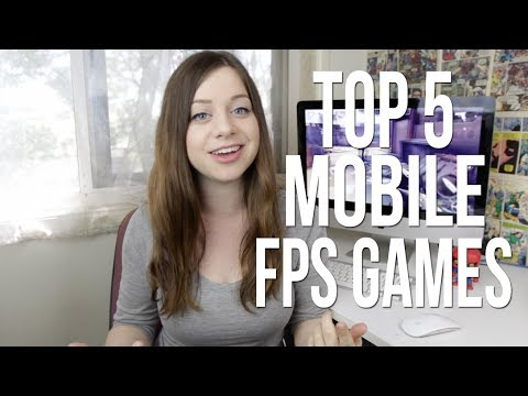 Top 5 FPS games on mobile