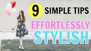 How To Be Effortlessly Stylish ON A BUDGET