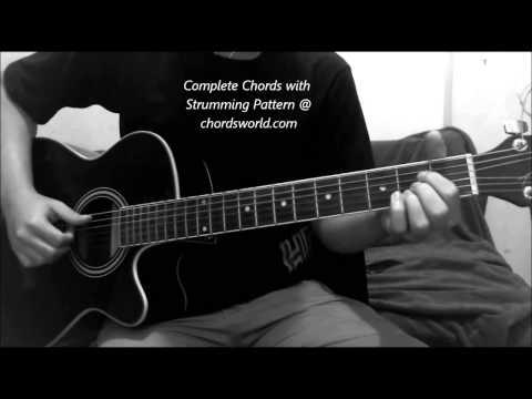 Thinking Out Loud Chords by Ed Sheeran - chordsworld.com