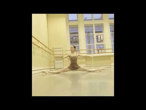 Vaganova Ballet Academy's Student - Anna Myachina Stretching
