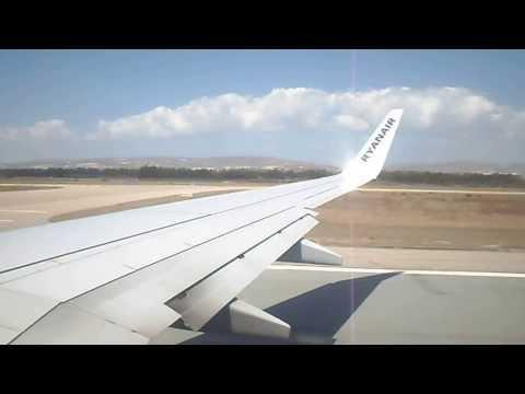 RYANAIR | 737-800 | Takeoff Paphos | 5th September 2013 | (HD)