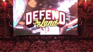 Watch as Cavaliers are introduced to open the 2017 NBA Playoffs against the Pacers