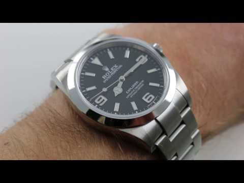 Rolex Explorer I 214270 Black Dial Luxury Watch Review