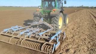 Uprawa i siew kukurydzy 2015 John Deere 6330P & Kuhn Maxima TS2, JD 6930P JD5720 *Podkarpacie*