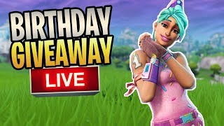 Fortnite - Birthday Giveaway Livestream And Q&A