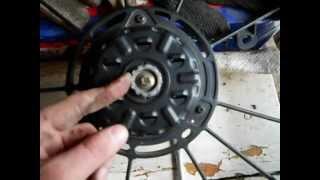 Ремонт вентилятора на Toyota Corolla 2001 1zze 122 кузов