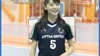 C-ute futsal practice.