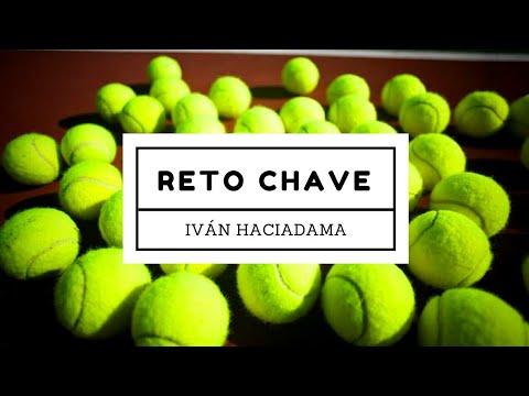 RETO CHAVE Pelotas tenis Iván