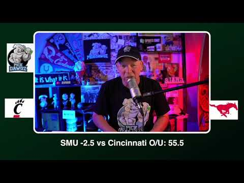 SMU vs Cincinnati Free College Football Picks and Predictions CFB Tips Saturday 10/24/20